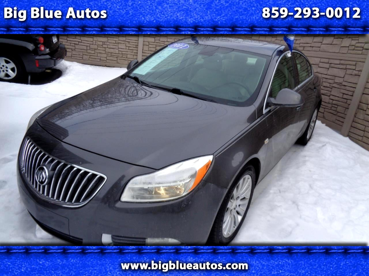 Buick Regal 4dr Sdn CXL RL4 (Russelsheim) *Ltd Avail* 2011
