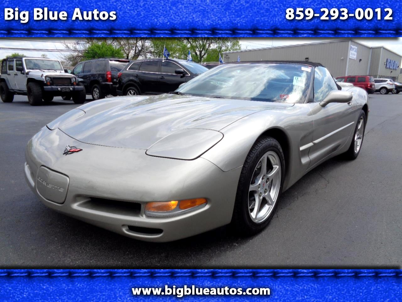 Chevrolet Corvette 2dr Convertible 2000