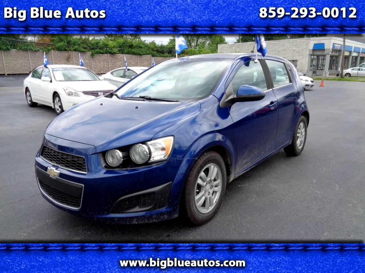 Chevrolet Sonic 5dr HB Auto LT 2013