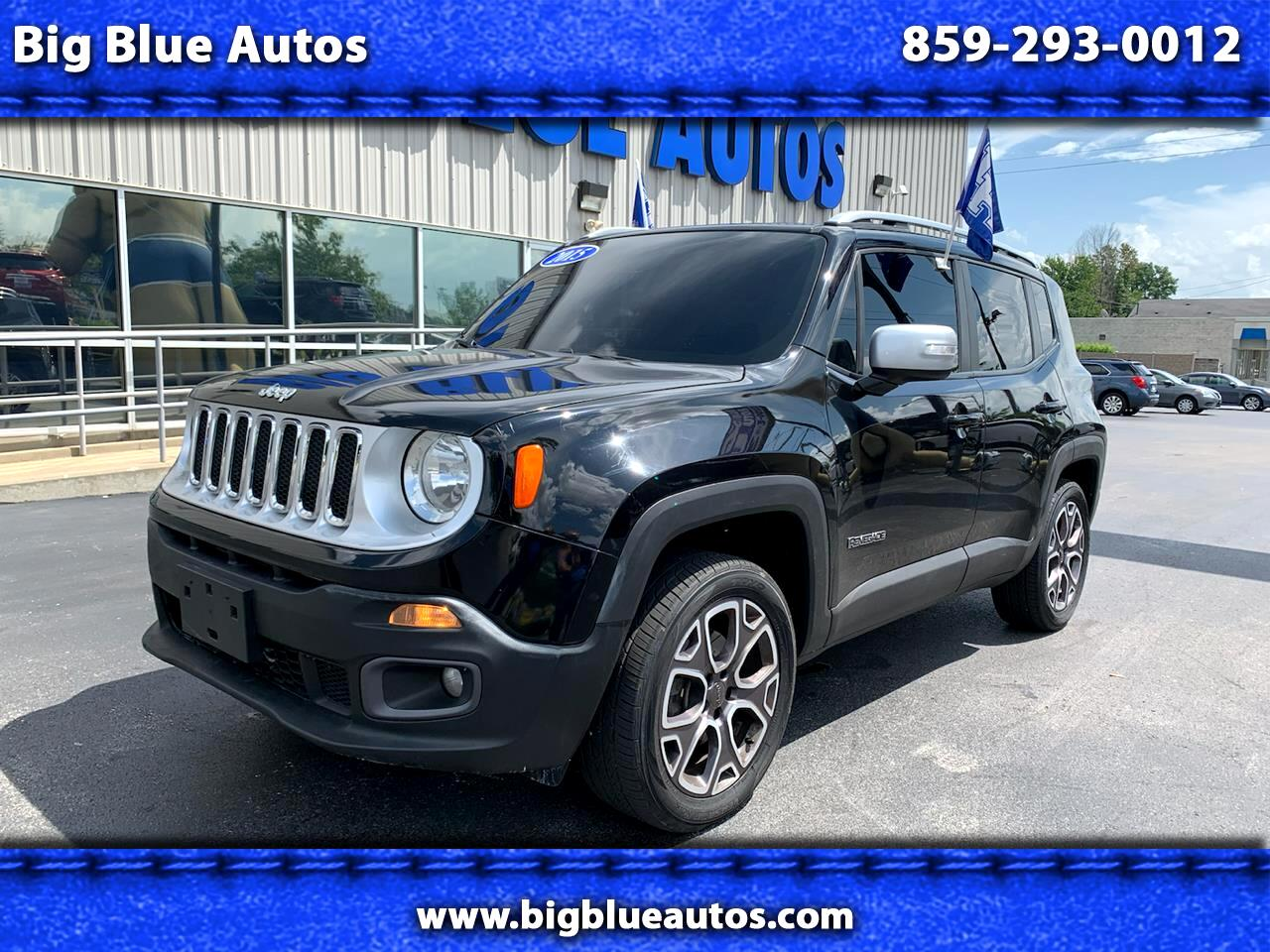 Jeep Renegade 4WD 4dr Limited 2015