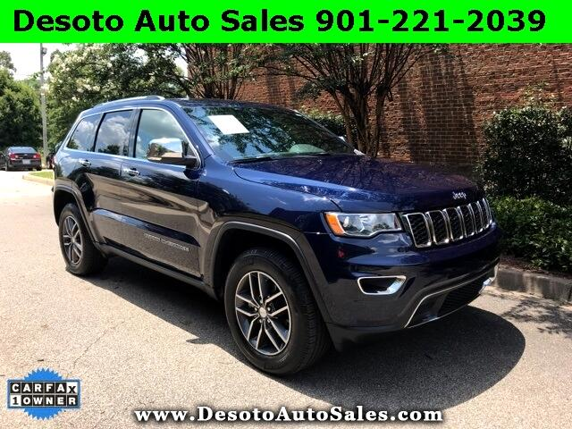 2018 Jeep Grand Cherokee Limited 4D Sport Utility