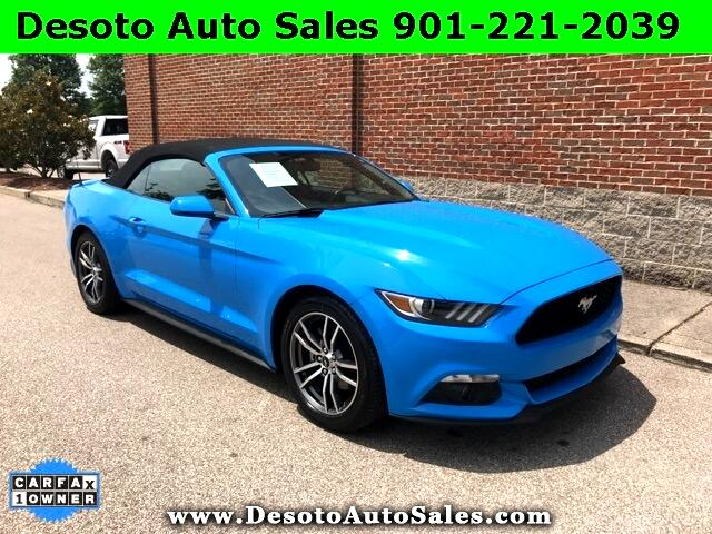 2017 Ford Mustang EcoBoost Premium 2D Convertible