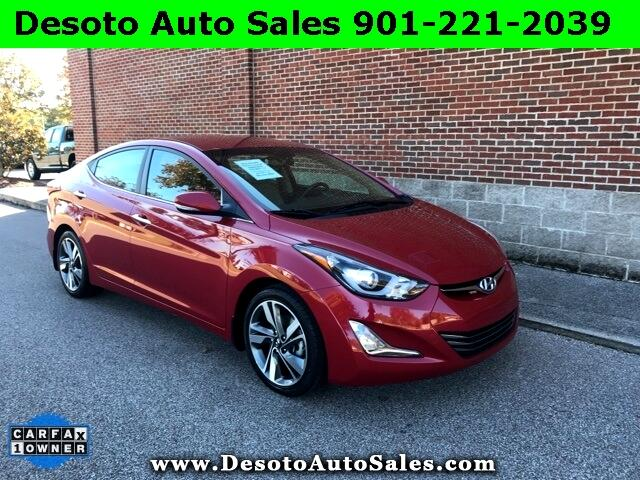 2015 Hyundai Elantra Limited 4D Sedan