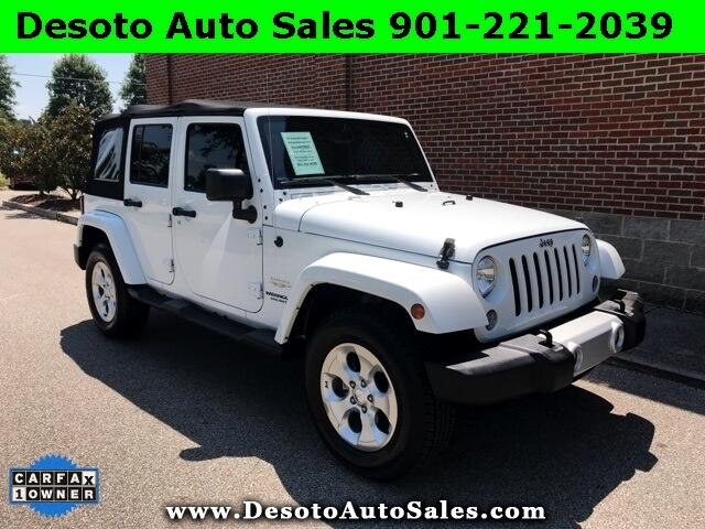 2015 Jeep Wrangler Unlimited Unlimited Sahara 4D Sport Utility