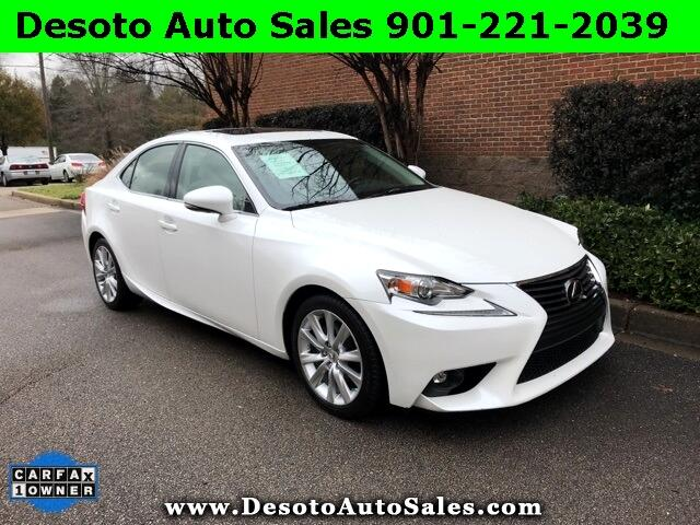 2015 Lexus IS 250 250 4D Sedan