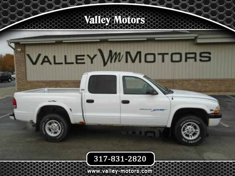 2000 Dodge Dakota Quad Cab Sport 4WD