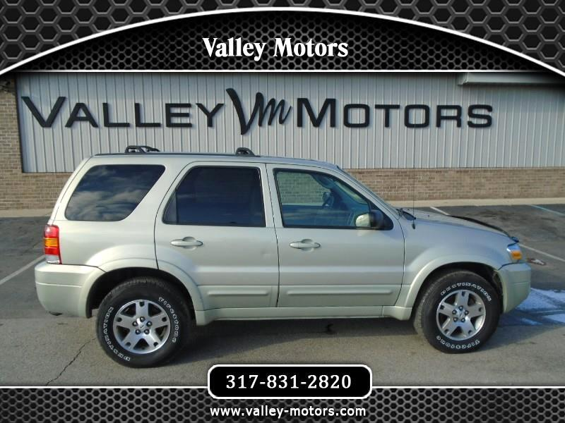2005 Ford Escape Limited 4WD