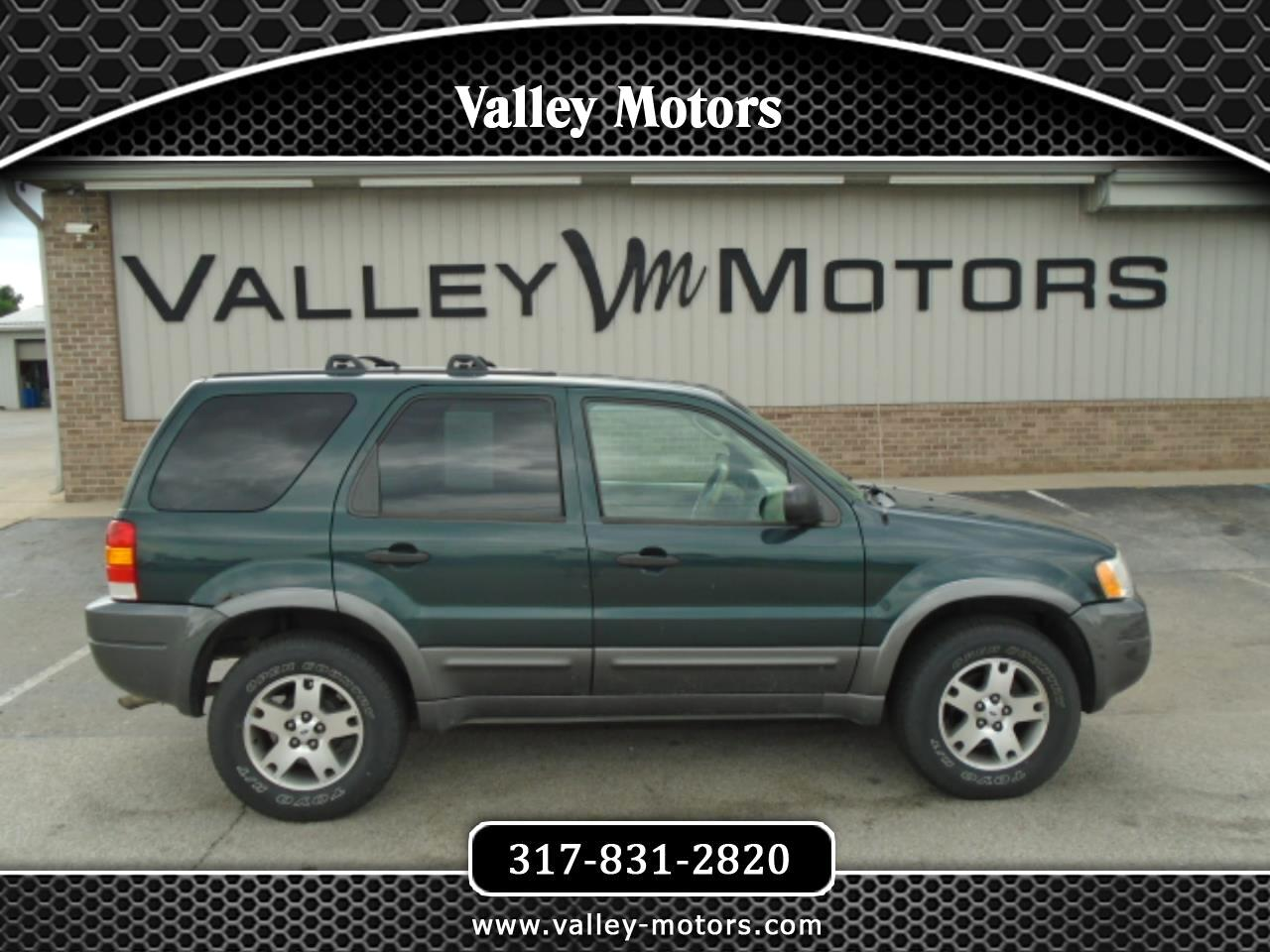 """Ford Escape 4dr 103"""" WB XLT 4WD Sport 2003"""