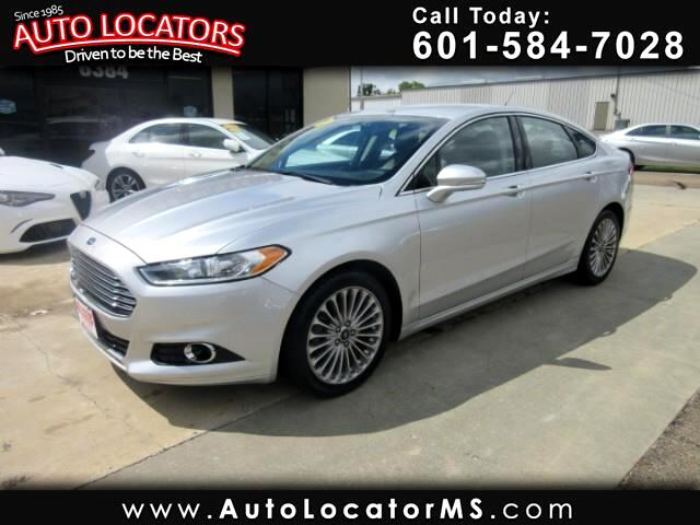 2015 Ford Fusion Titanium Eco Boost