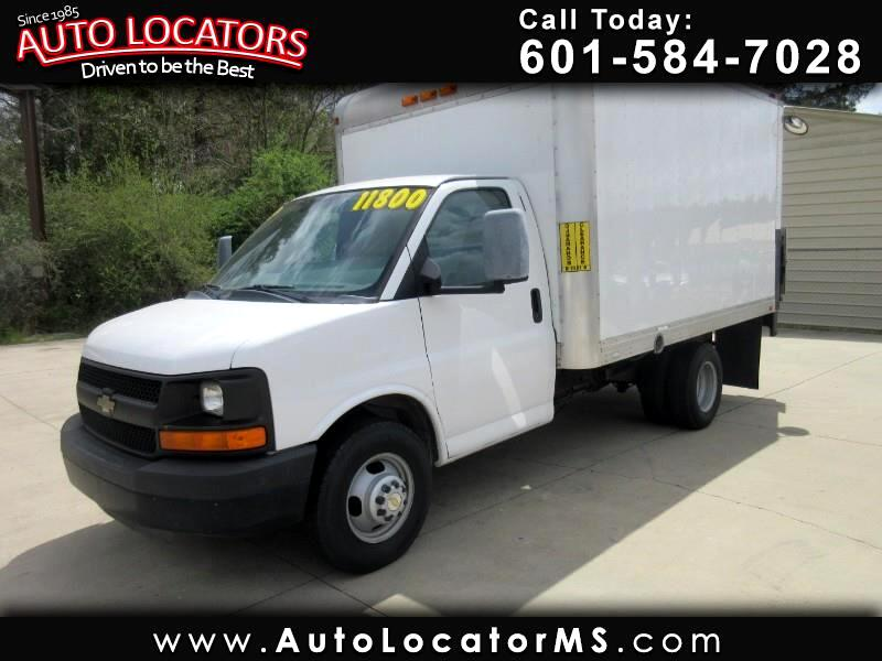"2012 Chevrolet Express Commercial Cutaway RWD 3500 139"" Box Truck"