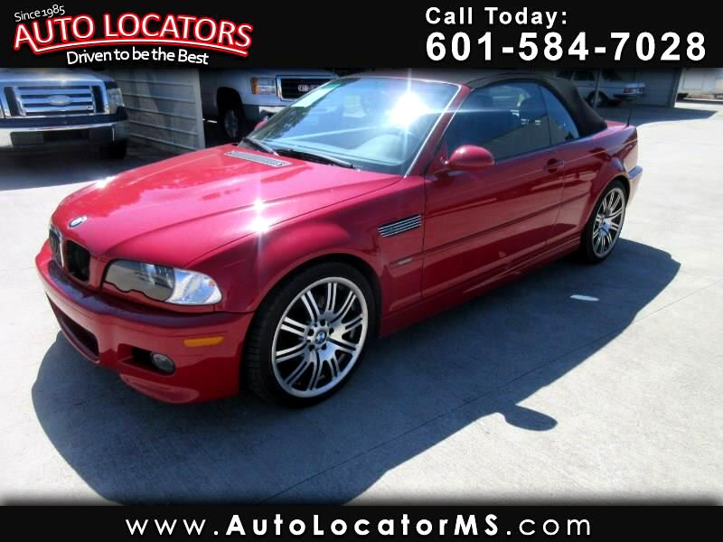 2002 BMW 3 Series M3 2dr Convertible