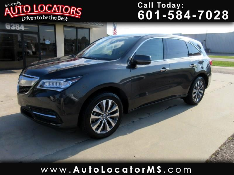 2016 Acura MDX FWD 4dr w/Tech/AcuraWatch Plus