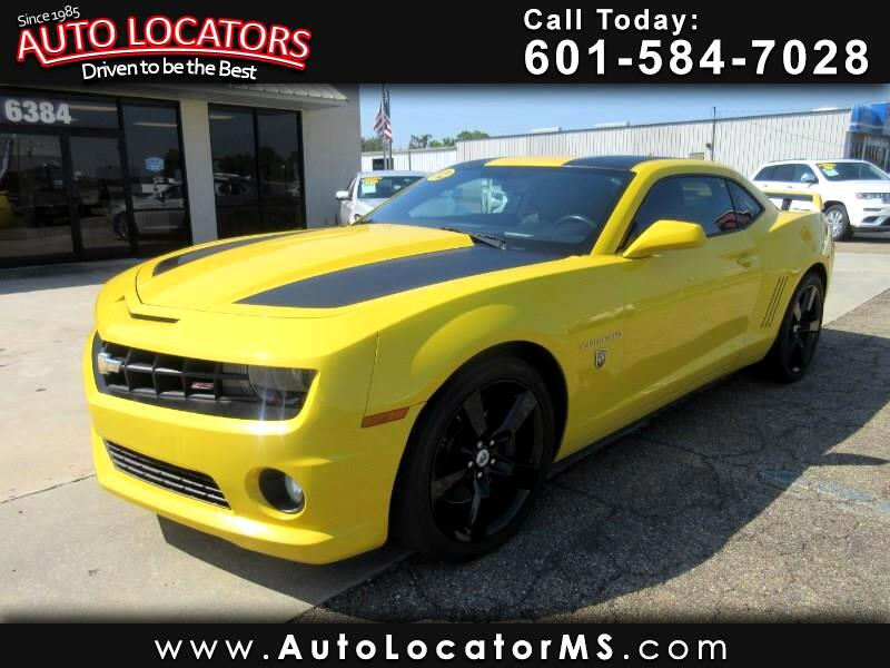 2012 Chevrolet Camaro 2dr Coupe Transformers Edition