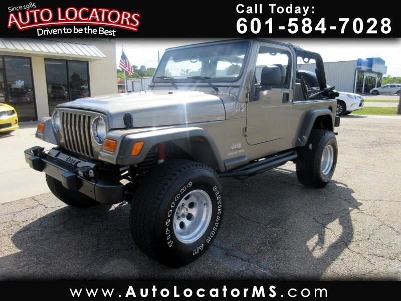2006 Jeep Wrangler 2dr Unlimited LWB