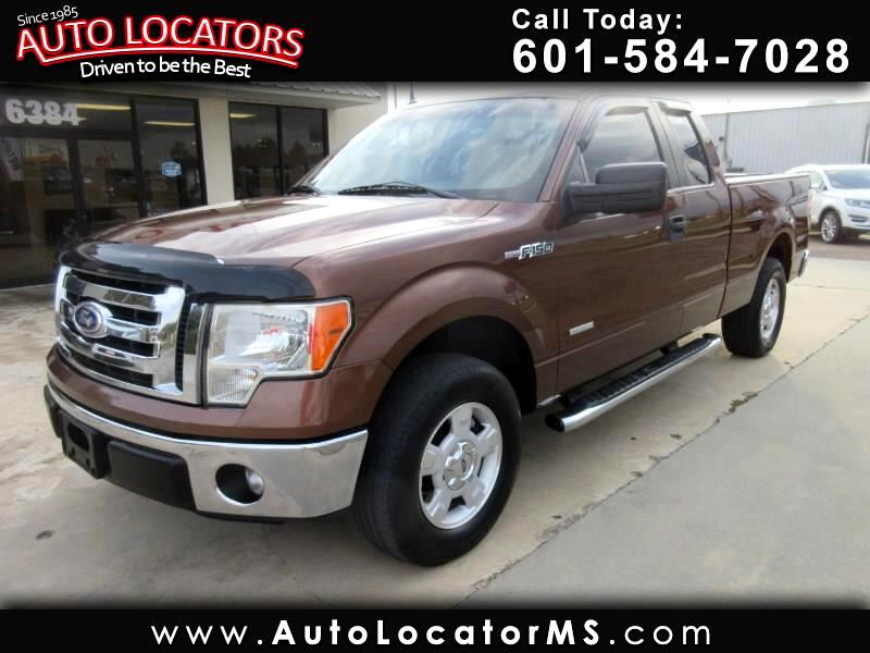 """Ford F-150 2WD SuperCab 163"""" XLT w/HD Payload Pkg 2011"""