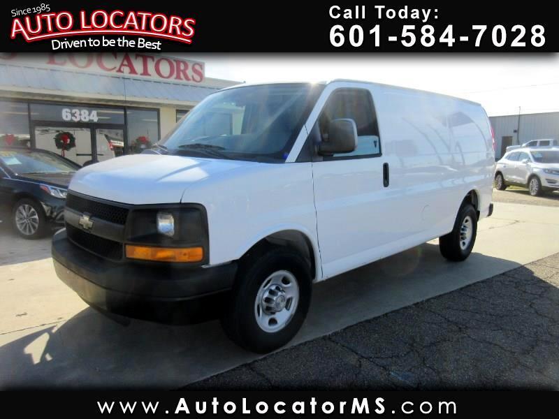 """Chevrolet Express Cargo Van RWD 2500 135"""" 2012"""