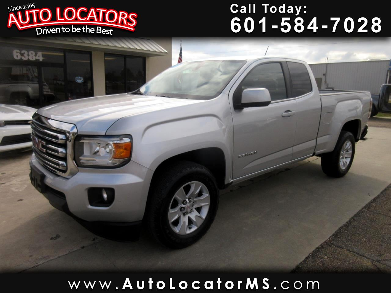 "GMC Canyon 2WD Ext Cab 128.3"" SLE 2016"