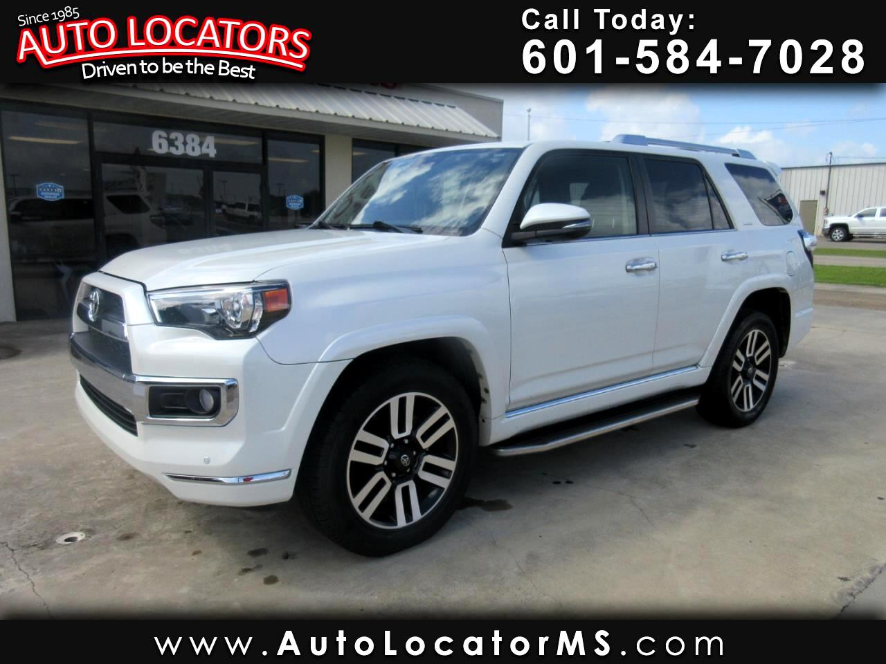 Toyota 4Runner 4WD 4dr V6 Limited (Natl) 2015