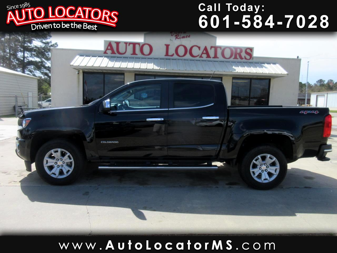 "Chevrolet Colorado 4WD Crew Cab 128.3"" LT 2016"