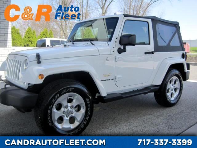 2015 Jeep Wrangler Sahara 4WD