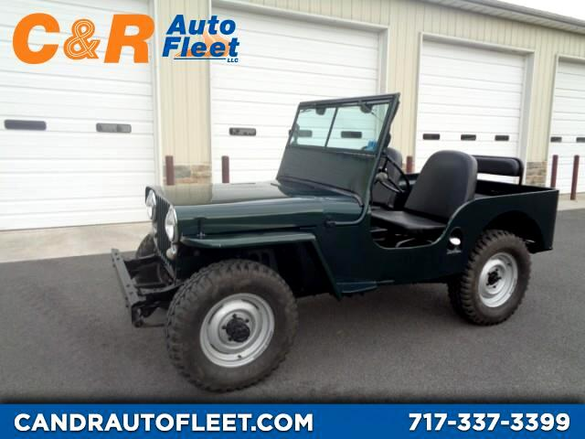 1947 Jeep Willys CJ-2A