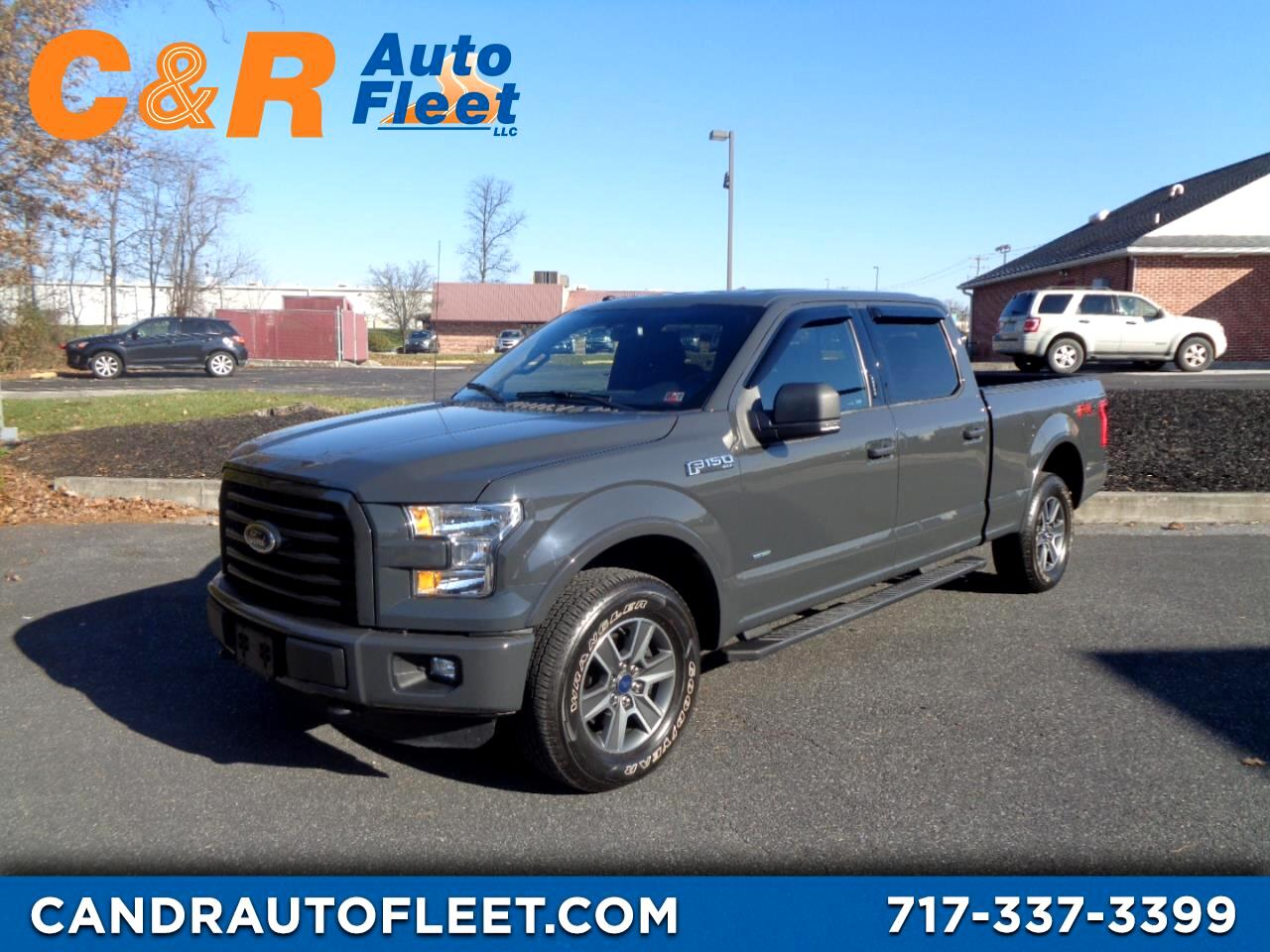 "2016 Ford F-150 4WD SuperCrew 157"" XLT"