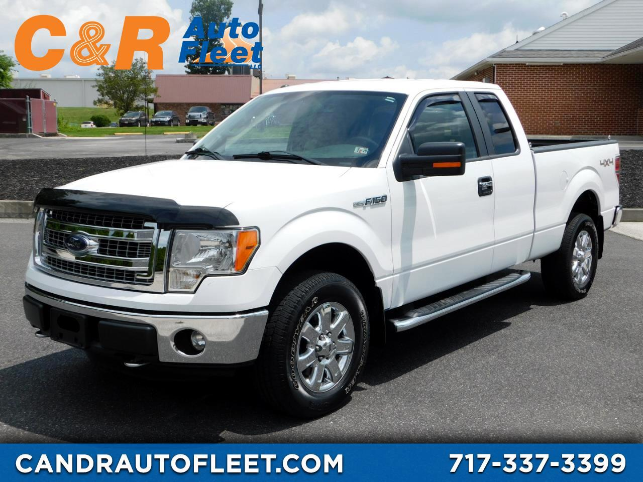 "2014 Ford F-150 4WD SuperCab 145"" XLT"