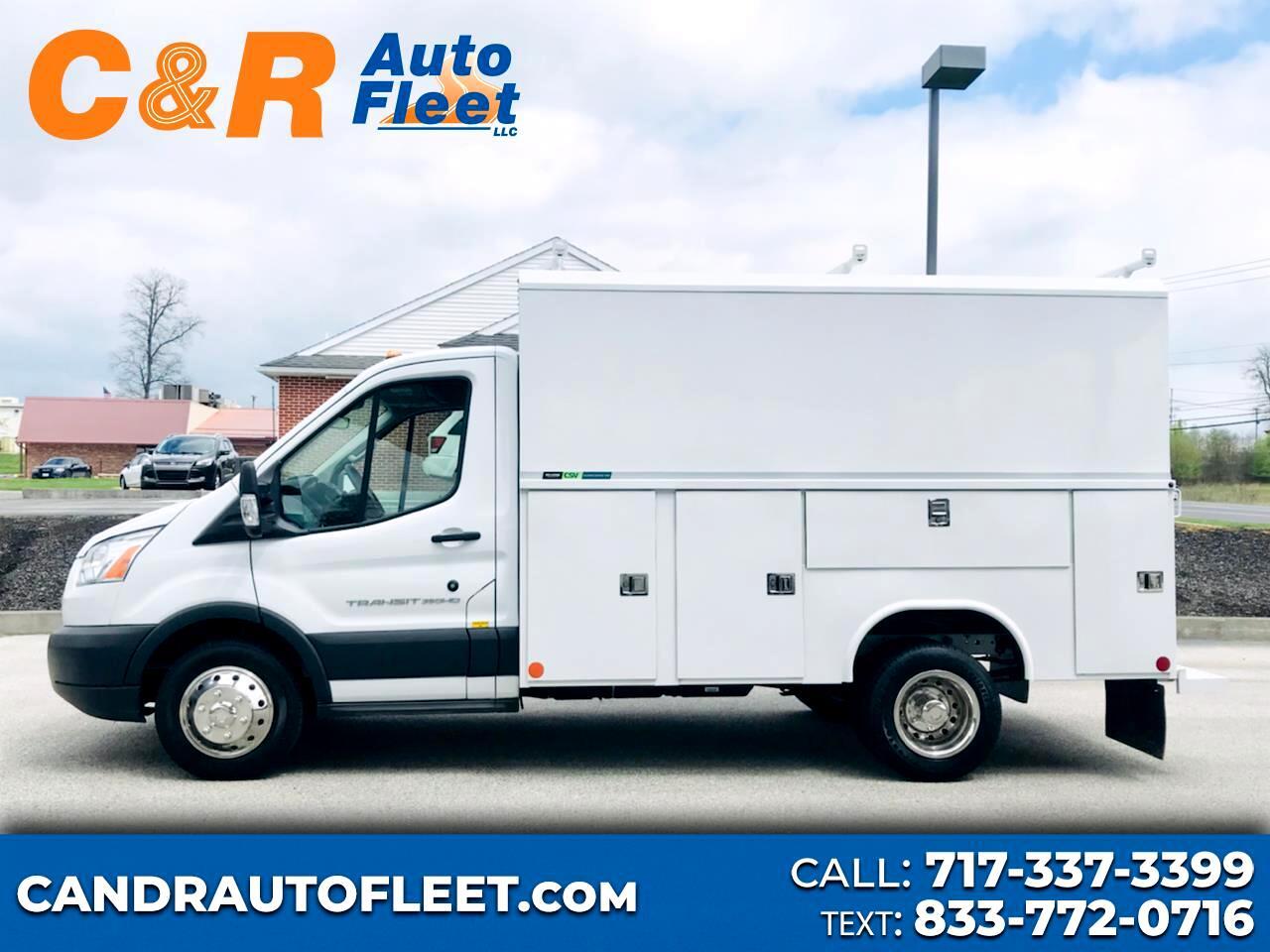 "Ford Transit Cutaway T-350 DRW 138"" WB 10360 GVWR 2018"