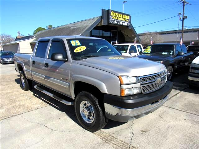 2005 Chevrolet Silverado 2500HD Work Truck Crew Cab Long Bed 2WD