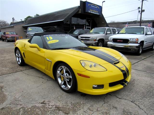 2013 Chevrolet Corvette GS Convertible 2LT