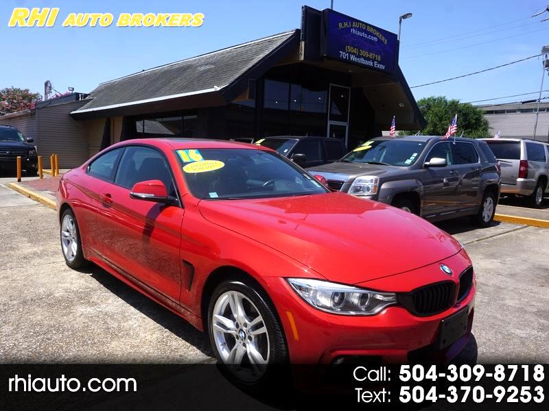 2016 BMW 4 Series 2dr Cpe 435i xDrive AWD