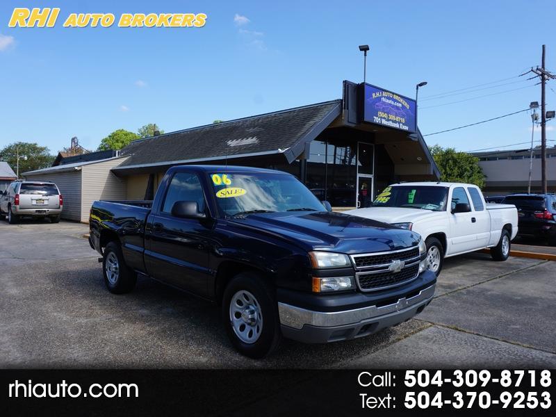 """2006 Chevrolet Silverado 1500 Reg Cab 119.0"""" WB 2WD Work Truck"""