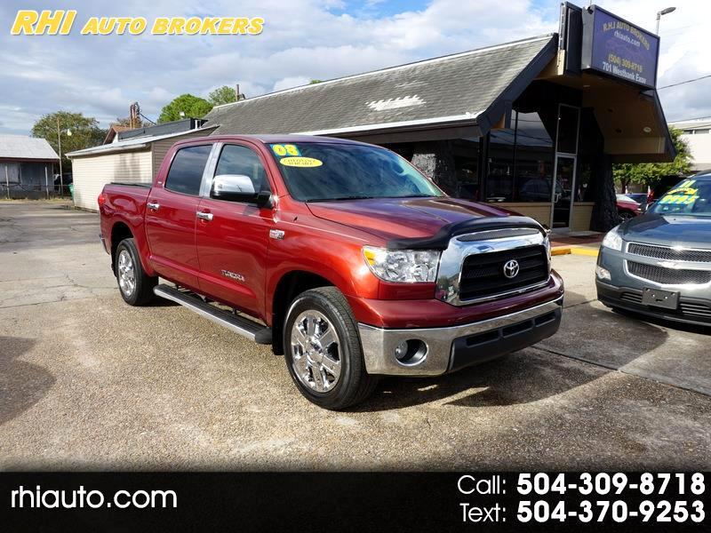 2008 Toyota Tundra 2WD Truck CrewMax 5.7L V8 6-Spd AT (Natl)