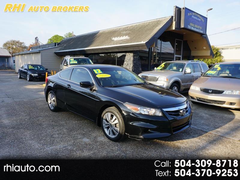 2012 Honda Accord 2dr I4 Auto EX-L