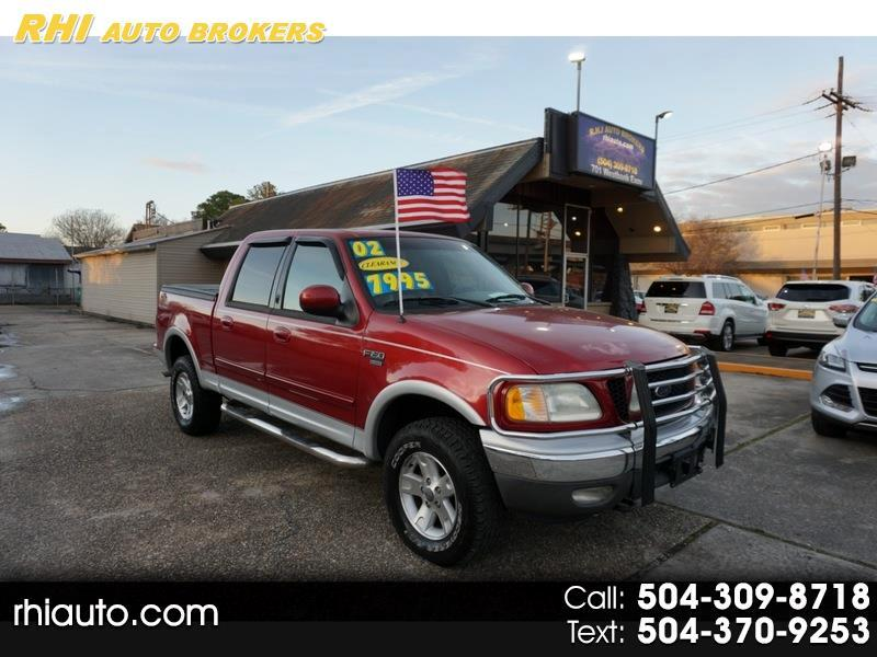 "Ford F150 SuperCrew 139"" King Ranch 4WD 2002"