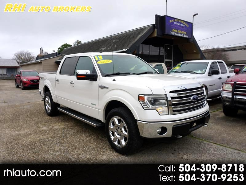 "Ford F150 4WD SuperCrew 145"" King Ranch 2013"