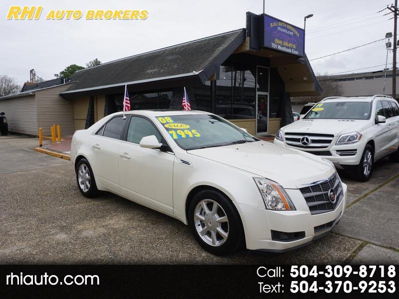 Cadillac CTS 4dr Sdn RWD w/1SB 2008