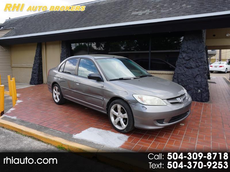 Honda Civic 4dr Sdn EX Manual 2004