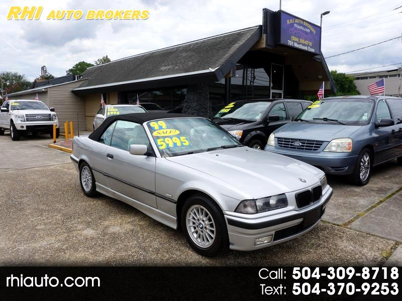 BMW 3 Series 323ICA 2dr Convertible Auto 1999