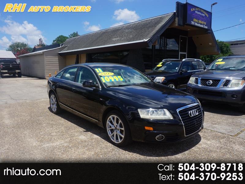 Audi A6 4dr Sdn FrontTrak 3.2L Premium Plus 2011