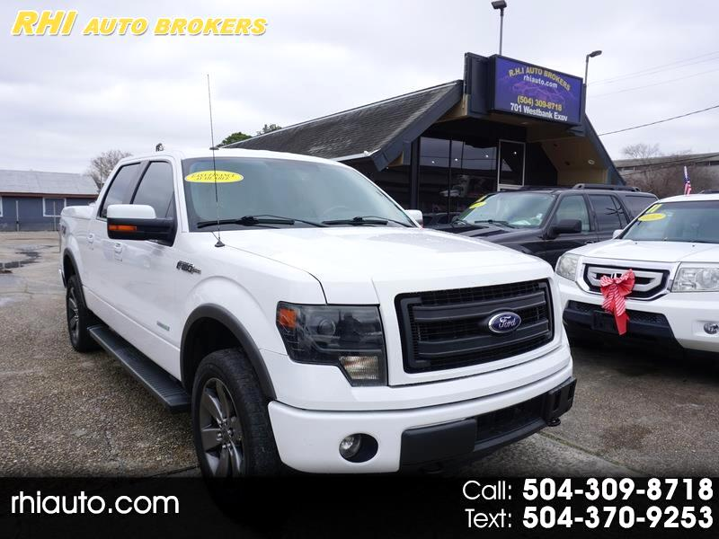 Ford F150 Lariat Supercab 4WD 145 2014