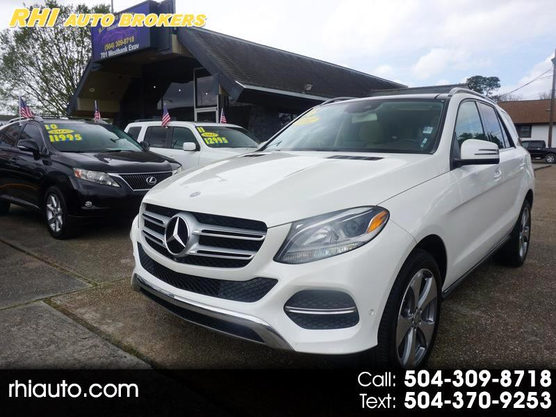 Mercedes-Benz GLE RWD 4dr GLE 350 2016