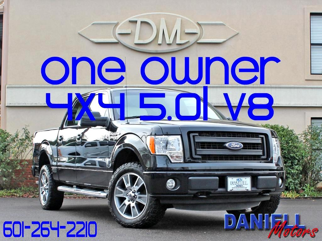 2014 Ford F-150 STX SuperCrew 5.5-ft. Bed 4WD
