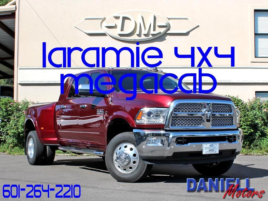 2017 RAM 3500 Laramie Mega Cab 4WD DRW