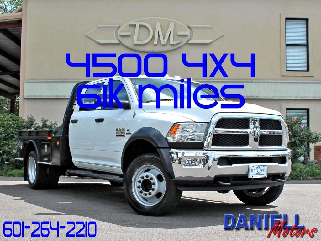2013 RAM 4500 Crew Cab 4WD