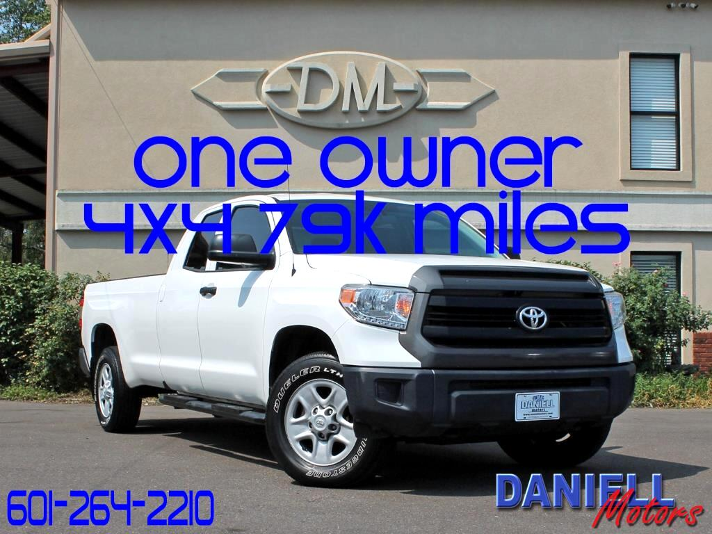 2016 Toyota Tundra SR 5.7 V8 FFV Double Cab 4WD Long Bed