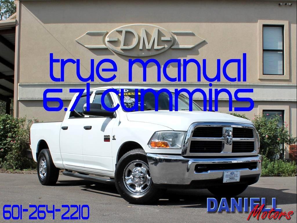 2012 RAM 2500 ST Crew Cab SWB 2WD