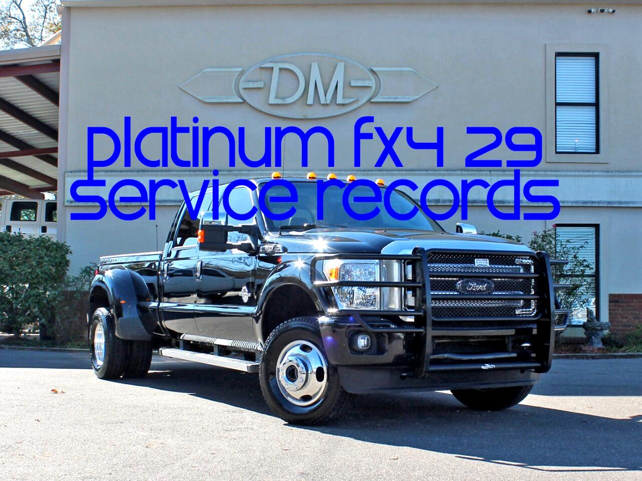 2016 Ford F-350 SD Platinum Crew Cab Long Bed DRW 4WD