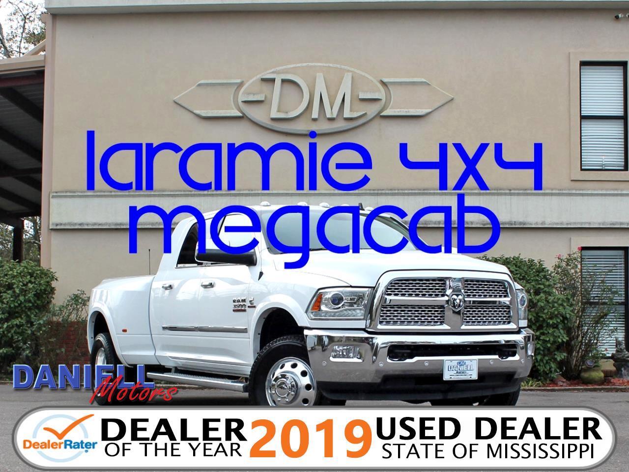 2016 RAM 3500 Laramie Mega Cab 4WD DRW