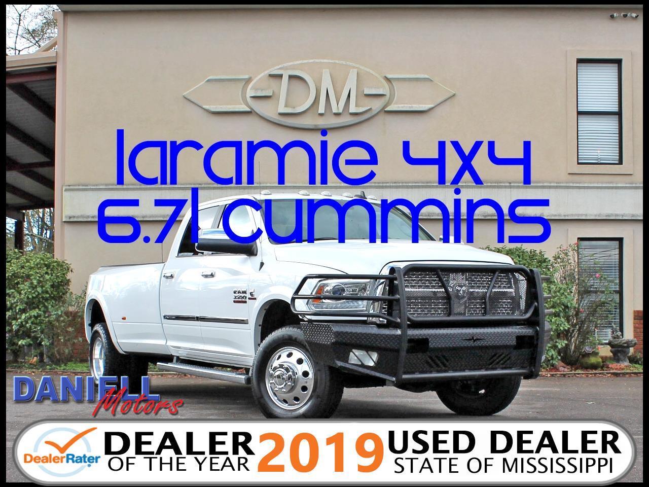2014 RAM 3500 Laramie Crew Cab LWB 4WD DRW